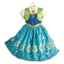 Disfraz Vestido Princesa Ana Frozen Fever Disney Store Usa