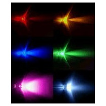 200 Leds Alta Luminosidad 5mm Led Azul Verde Blanco Rojo