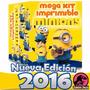 Kit Imprimible Minions Villano Favorito - Editable + Bonus