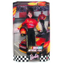 Barbie Collector Nascar Official # 94 Año 1999 Bunny Toys