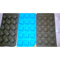 Molde De Silicona Bombones De Chocolate Modelos