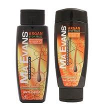 Kit Ma Evans Shampoo + Acondicionador Stop Frizz Anticaida