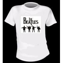 Remera Estampada Niño - The Beatles - Excelente Calidad