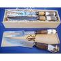 Cuchillos Artesanales De Tandil -juego De Trinchar 16cm Hoja