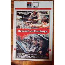 Poster-rescate En Camboya