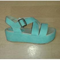 Sandalias Con Plataforma Lady Comfort - Diosa Isis