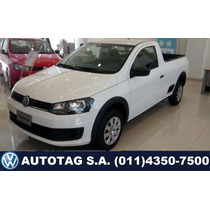 Volkswagen Saveiro Cabina Simple 1.6 0 Km 2016 #a4