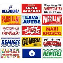 Banderas Para Comercio 150 X 75 Cm Publicidad Negocio