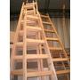 Escalera De Pintor Reforzada Madera 7 Escalones