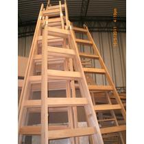 Escalera De Pintor Reforzada Madera 10 Escalones
