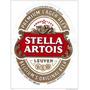 Carteles Antiguos Chapa 20x30cm Cerveza Stella Artois Dr-140