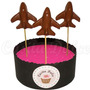 10 Chupetines De Chocolate Avion Cumples Souvenirs Chupetin