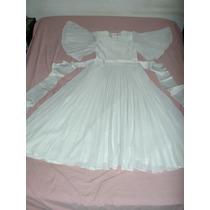 Feria Americana- Vestido De Novia - De Fina Confeccion -