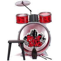 Bateria P/niños Faydi First Band En Cuotas Sin Interes