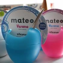 Mate Mateo Verano - Silicona - Magenta Deco Regalo Original