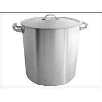 Olla Aluminio Gastronomica - N.º 40, Carga 47 1/2 Litros