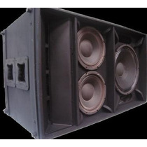 Line Array Curvo&eighteensound Kf 421 (caja Vacia)