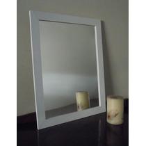 Espejo Con Marco De Madera P/baño O Deco 48x60
