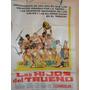 Poster Pelicula * Los Hijos Del Trueno * Año 1962 Original