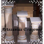 Columnas De Cemento !!! Patinadas 80cm $95 Hay Mas Medidas