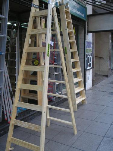 Escalera combinada de madera 10 pelda os - Peldanos de escaleras precios ...