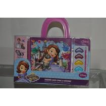 Maletin Para Crear Y Colorear De La Princesa Sofia Disney