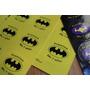 Stickers Batman Personalizados 6 Planchas X 8u Cumpleaños