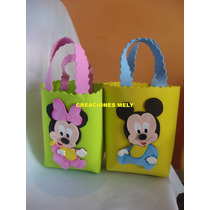 Bolsitas Golosineras Para Tu Evento Mickey Y Minnie Bebes.