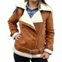 Campera Gamulan Forrado En Corderito Mujer The Big Shop