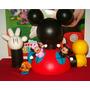 Adorno P/ Torta : La Casa De Mickey Mouse + 6 Personajes !