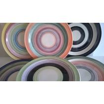 Platos De Ceramica Playos 28 Cm.