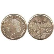 Moneda Conmemorativa Evita / Eva Peron 2002