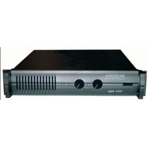 Potencia American Pro Apx 800 - (410 W + 410 W / 4 Ohms)