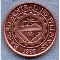Filipinas 10 Sentimos 1997 * Banco Central *