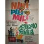 Poster Escandalo En La Familia Olmedo . Nini Marshall 1967