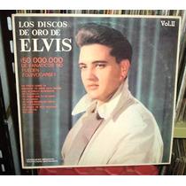 Elvis Presley Los Discos De Oro Vol 2 Vinilo Argentino Promo