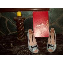 Zapatos Saverio Di Ricci (nº40) Color Plata A Toda Hora!!!