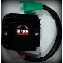 Regulador Voltaje Ficha Macho Rx 150 Zanella. El Tala.