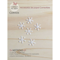 Copos De Nieve En Papel Comestible Mi 4004