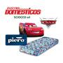 Colchon Piero Espuma Disney Cars 190 X 80 X 18 Lanus