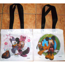 Bosas De Friselina De Mickey Con Minnie X 10 Unidades