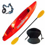 Kayak Rocker One Con Remo Asiento Tambien Wave Warrior Twin