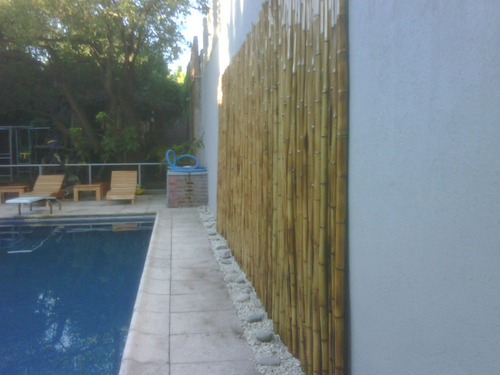 Ca as bambu tacuara cercos techos colocacion sin cargo - Cana bambu decoracion ...