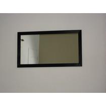 Espejo Con Marco De Madera P/baño O Deco 60x80