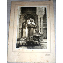 Antigua Fotografia Original Estudio Disfraz Disfraces