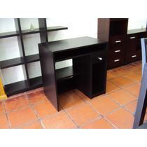 Mesa De Computación Wengue 80x50cm Escritorio Carpinteriadm