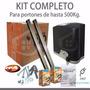 Motor Corredizo Ppa De 1/4 Hp Nuevo Kit Completo