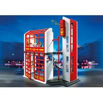 Estación De Bomberos Con Alarma - Playmobil - Art. 5361