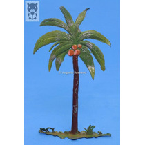Palmera Plomo Hueco Original Eg Toys 1950 Selva Don Fabian