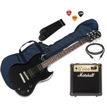 Guitarra Epiphone Sg Special + Amplificador Marshall Mg10 Cf
